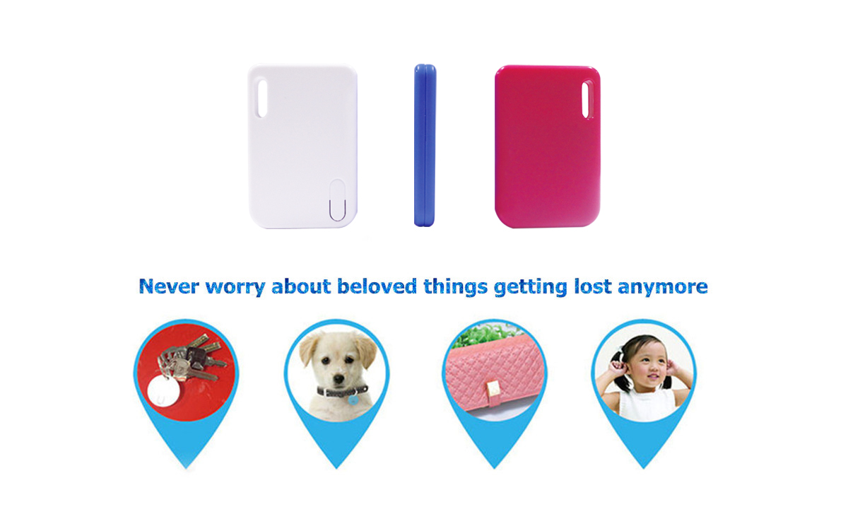 rechargeable key finder bluetooth tracker anti lost alarm device for IOS Android mobile phone.jpg